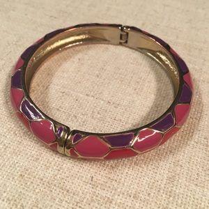 Pink & purple bracelet